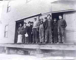 Newton A. Carroll's rebuild crew